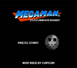 Les goodies des 25 ans de Mega Man 08